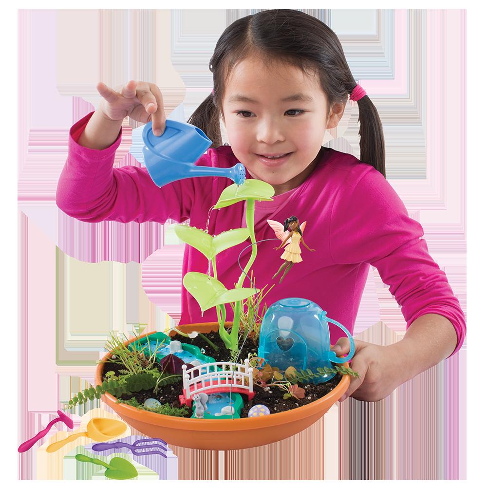 Spielzeug für draußen Playmonster My Fairy Garden  Lily Pond