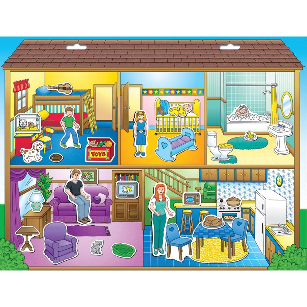 Create A Scene Magnetic Dollhouse Playmonster