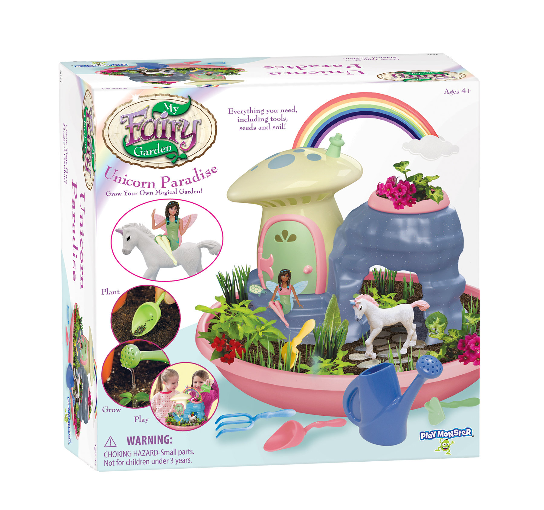 Unicorn Garden Playset My Fairy Garden Free Shipping!