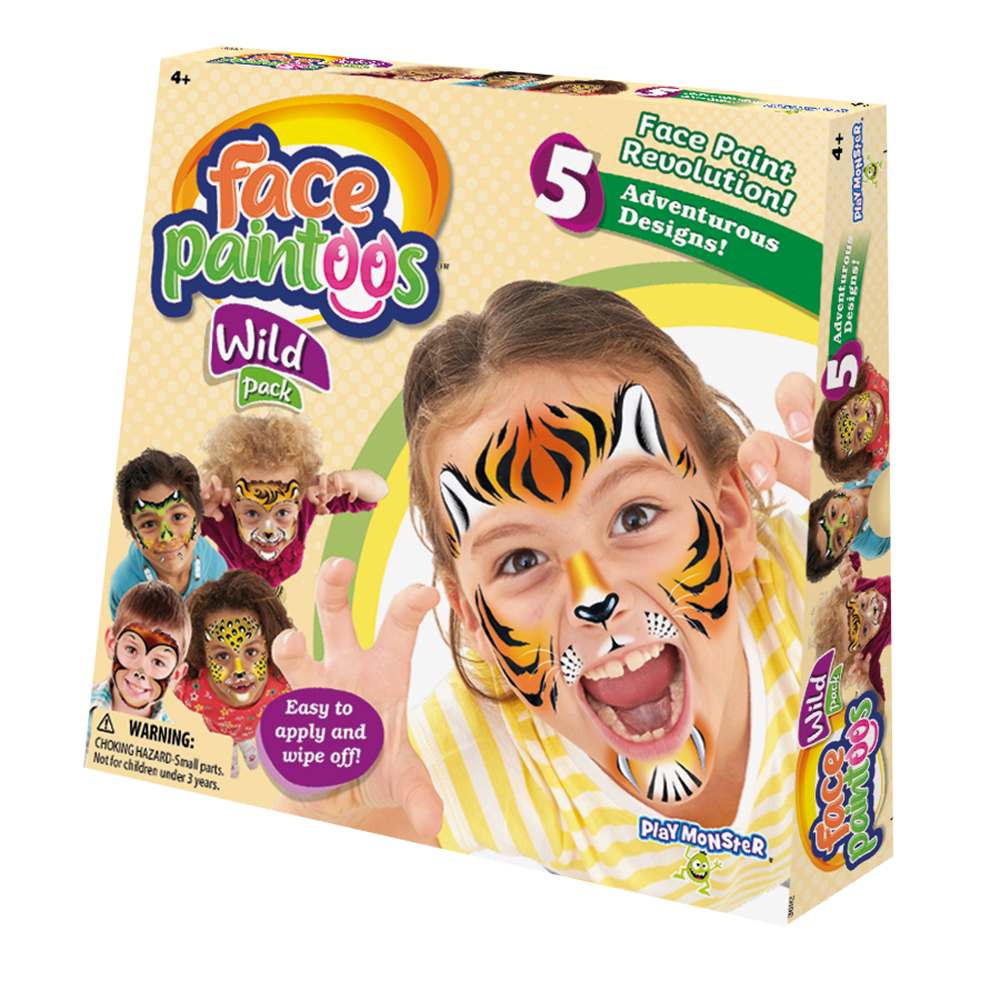 Face Paintoos™ Wild Pack