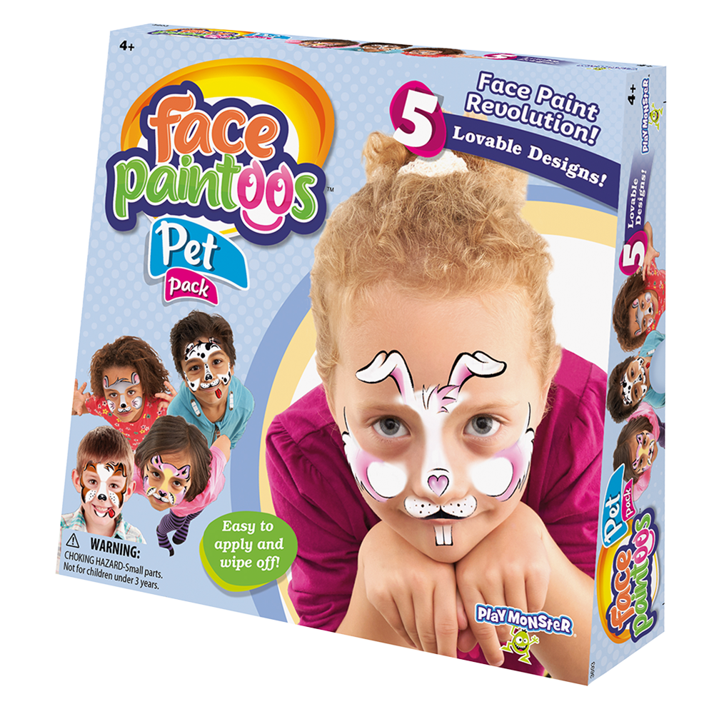 Face Paintoos Pet Pack Playmonster
