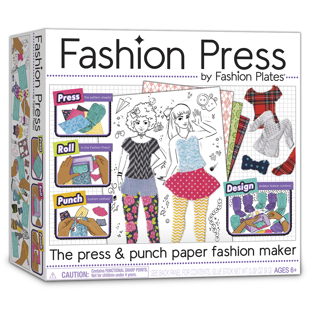 Fashion Press Kit Playmonster